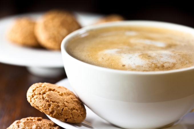 コーヒー カフェラテ お菓子 クッキー
