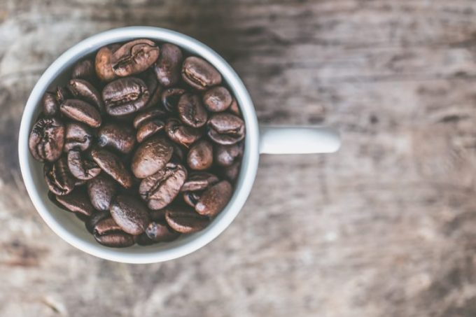 コーヒー豆 カップ