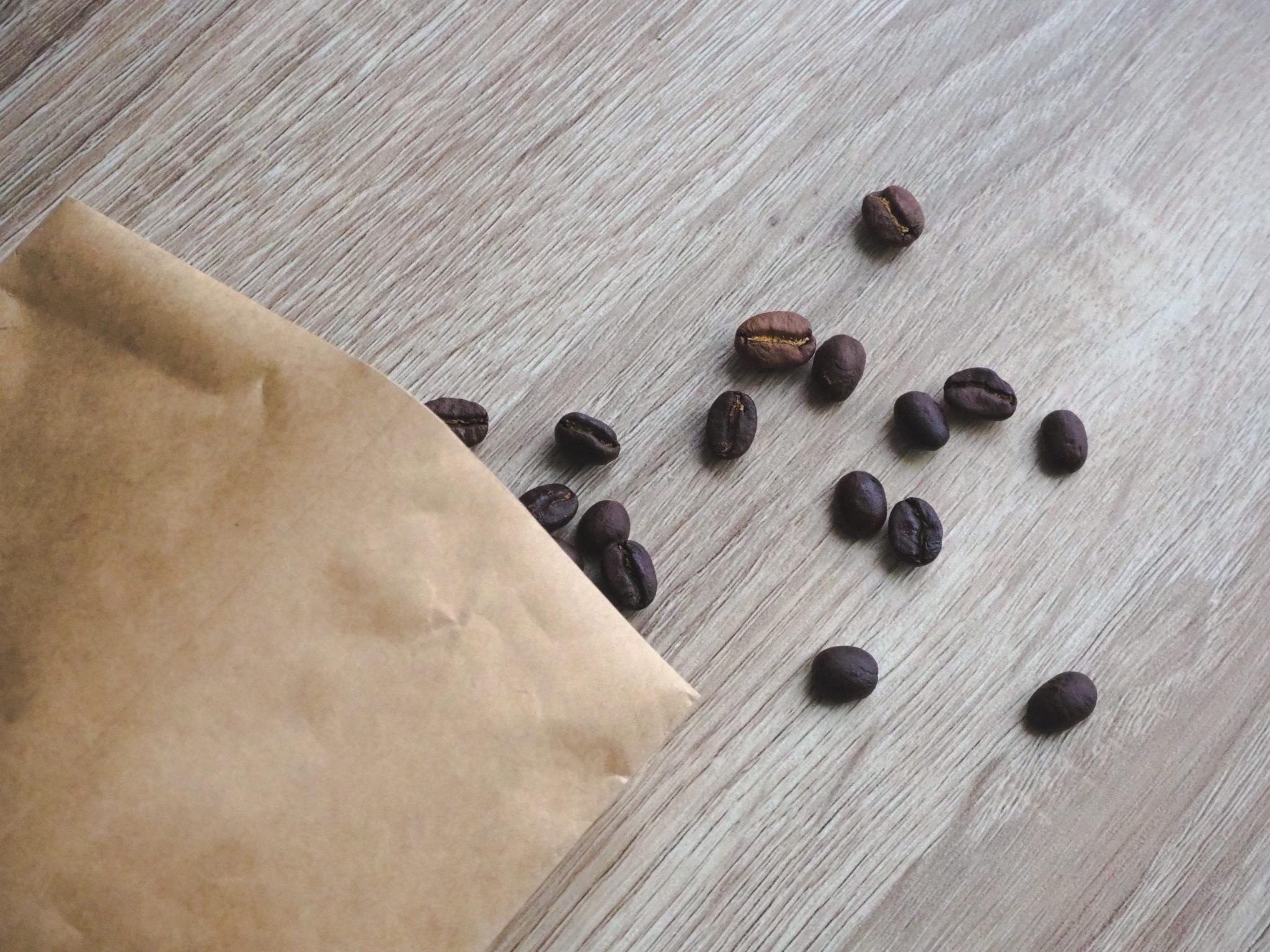 森とコーヒー。