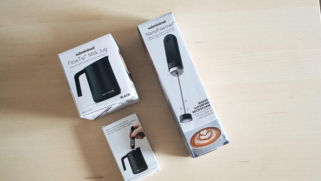 Nano Foamer / FlowTip Milk Jug / Contactless Thermometer