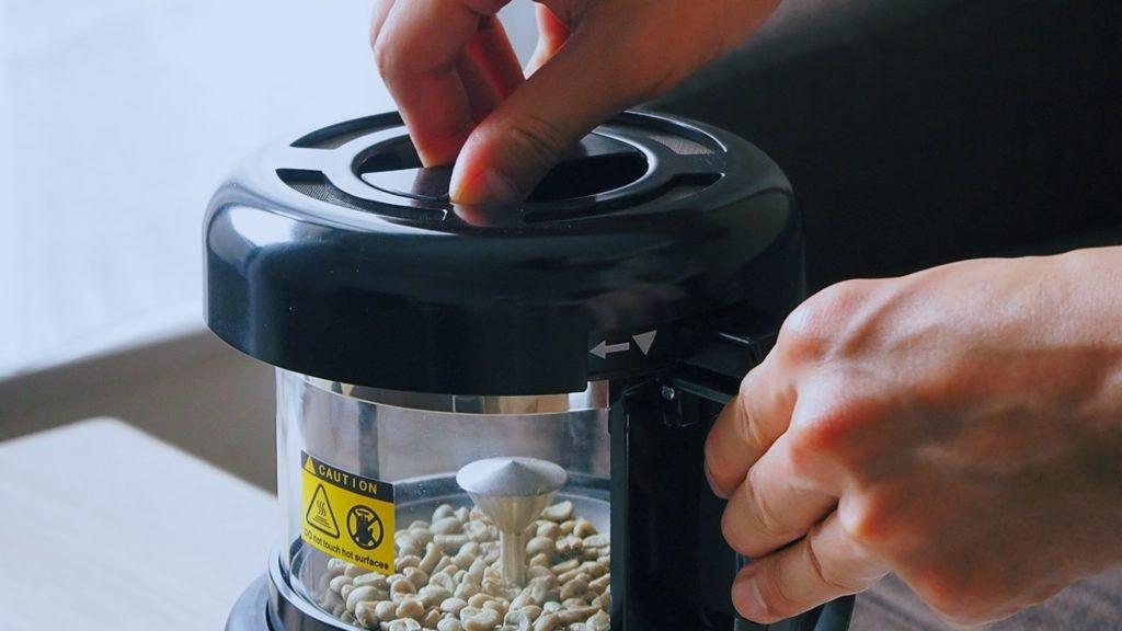 SOUYI コンパクトコーヒー焙煎機